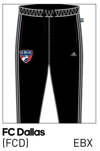 2016 FC Dallas stadium pants.