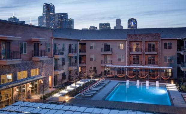 One of the properties Cortland bought is the Pure Farmers Market apartments in downtown Dallas.