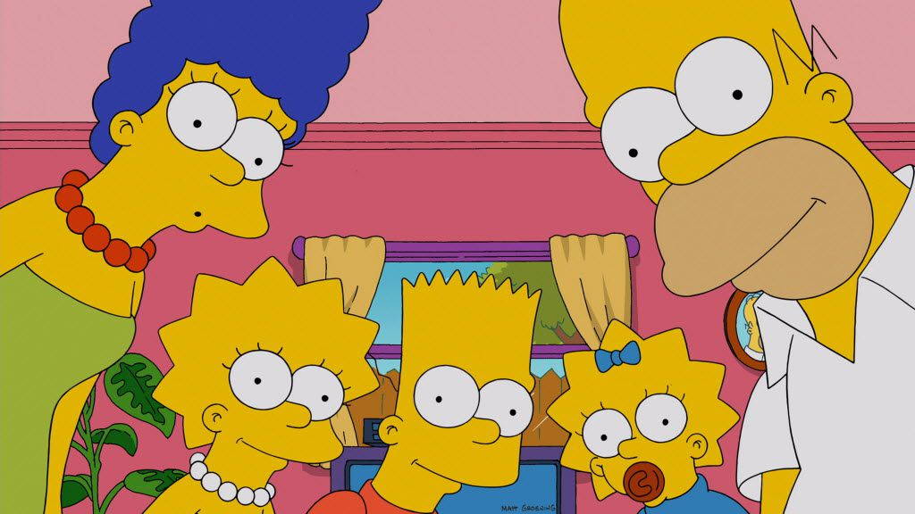 """Long-running Fox cartoon """"The Simpsons"""" is always available on FXX, a comedy offshoot of FX. The network began airing the library of episodes in August 2014. And this Thanksgiving, they'll start it all over again at episode 1."""