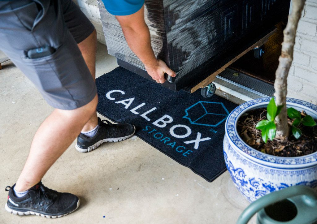 Owners who use Callbox have a digital photo inventory of their property so that when they want something back, they can have it delivered home in 48 hours. (Ashley Landis/The Dallas Morning News)
