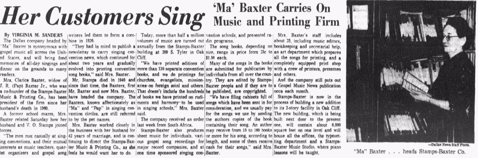 From The Dallas Morning News, Jan. 28, 1962