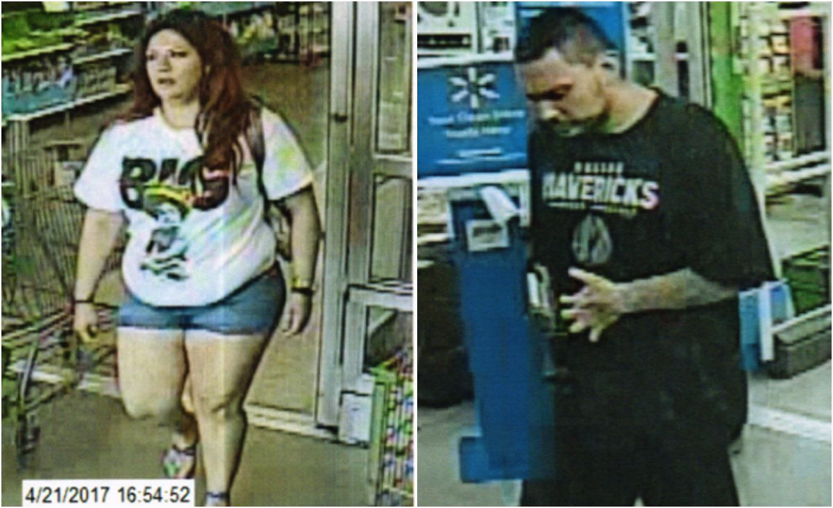 Rowlett police are searching for a man and woman suspected of taking more than $3,000 in baby formula from area stores in April.