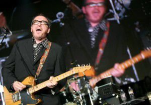 Elvis Costello performs at Superpages.com Center on May 21, 2008. (Jason Janik/Special contributor)