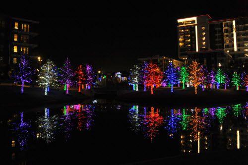 Vitruvian Park es una de las atracciones para visitar en estas fechas en el Metroplex./ (Alexandra Olivia/ Special Contributor)