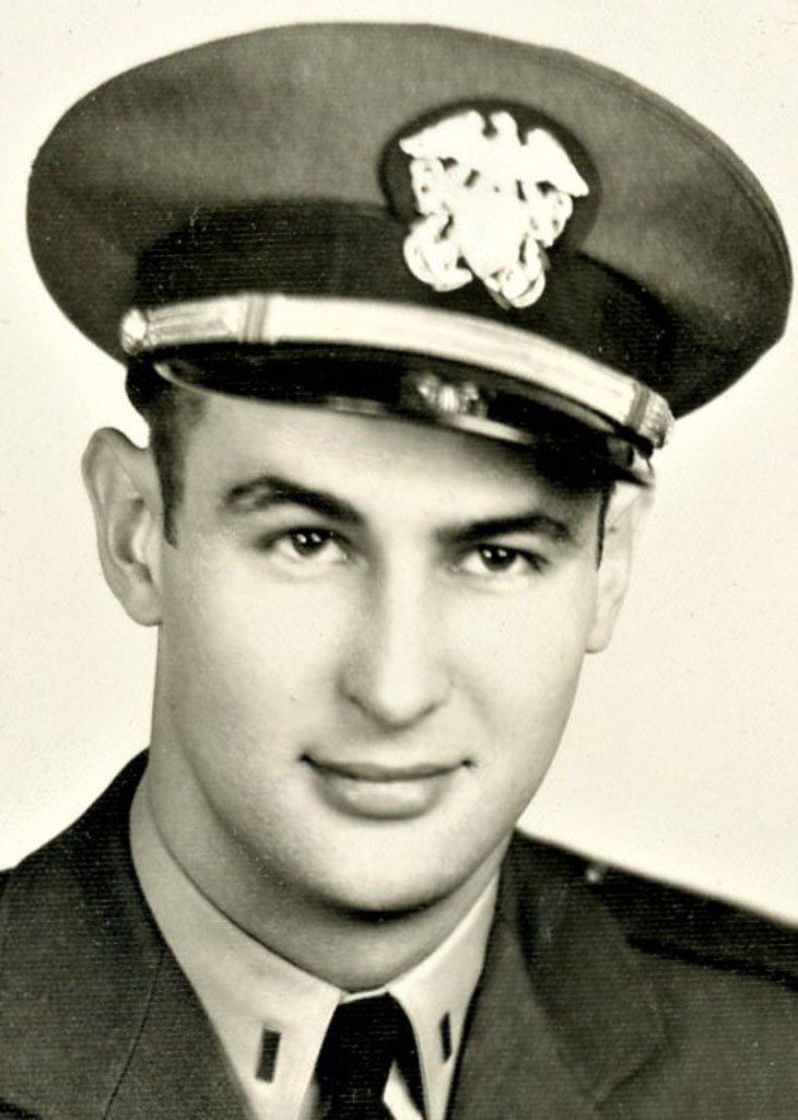 Charles L. Wilcox, retired Navy pilot