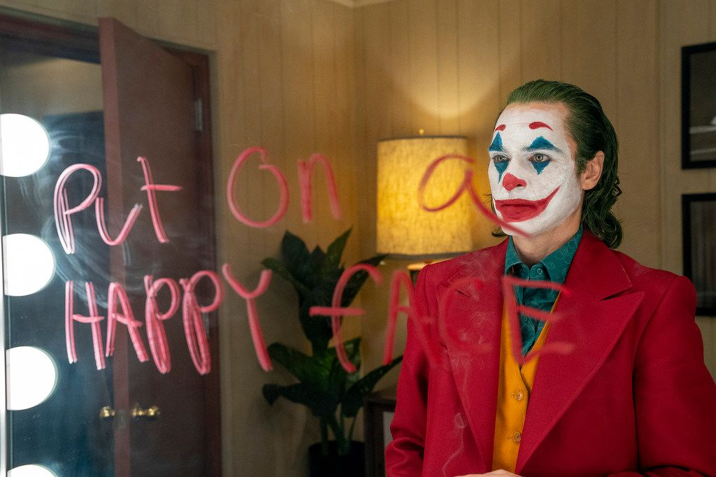 Joaquin Phoenix's Joker becomes noticeably happier and more well-liked the more he embraces horror and nihilism.