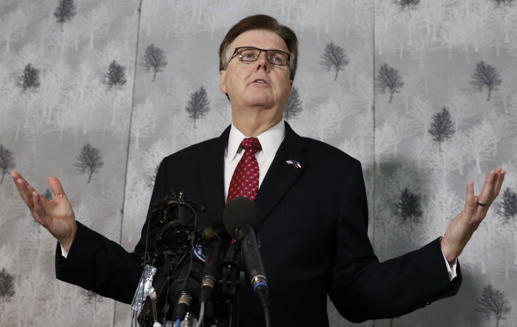 "Lt. Gov. Dan Patrick called protesters who ran from a sniper's bullets in downtown Dallas ""hypocrites"" on Friday, and he blamed the Black Lives Matter movement for the violence."