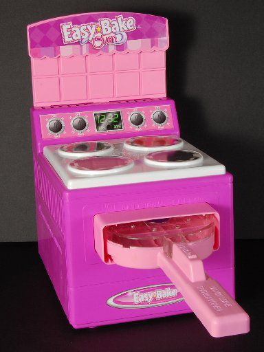 This undated handout photo provided by the Consumer Product Safety Commission (CPSC), shows a Hasbro inc. Easy Bake Oven, an iconic toy with a four-decade history, that has been recalled multiple times. (AP Photo/CPSC)