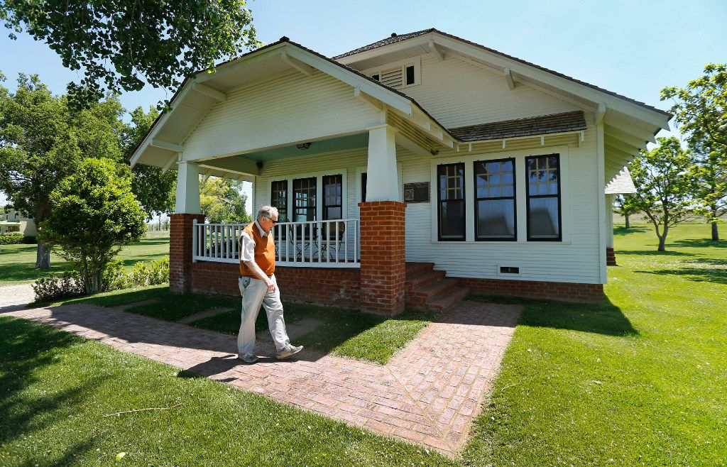 T. Boone Pickens had his Holdenville, Okla.., boyhood home moved and restored to his Mesa Vista Ranch, then donated it to his alma mater, Oklahoma State University in Stillwater.