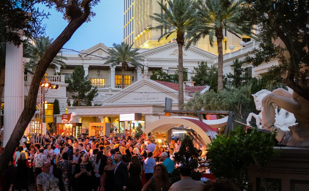 The Grand Tasting at Caesars Palace is one of Uncork'd by Bon Appetit's signature culinary events.