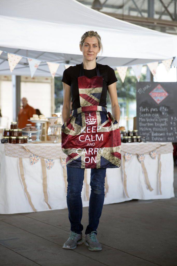 Tina Miller splits her time between Blind Butcher on Greenville Avenue and her pop-up farmers market shop, The Proper Baking Co.