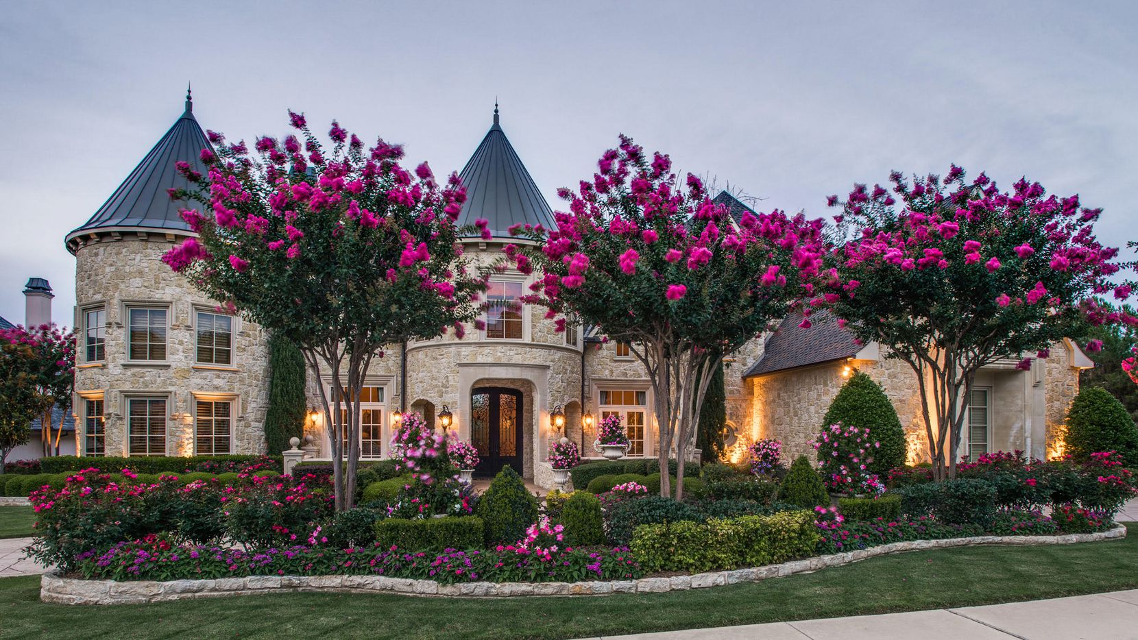 The estate at 5608 Monterey Drive in Starwood is offered at $2,749,000.