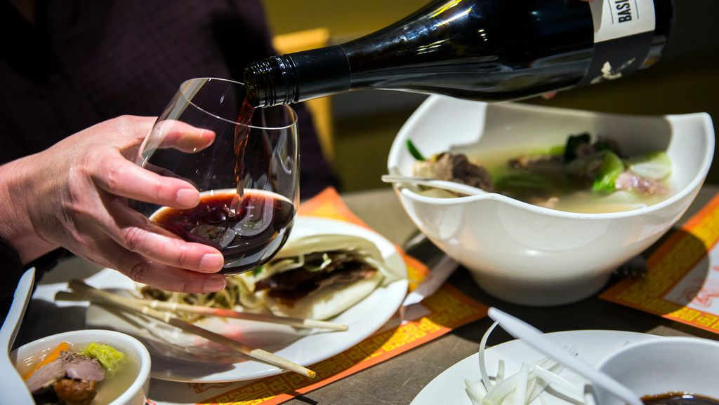 At First Chinese BBQ in Richardson, Peking duck is served with duck soup and stir-fried duck and bamboo shoots.