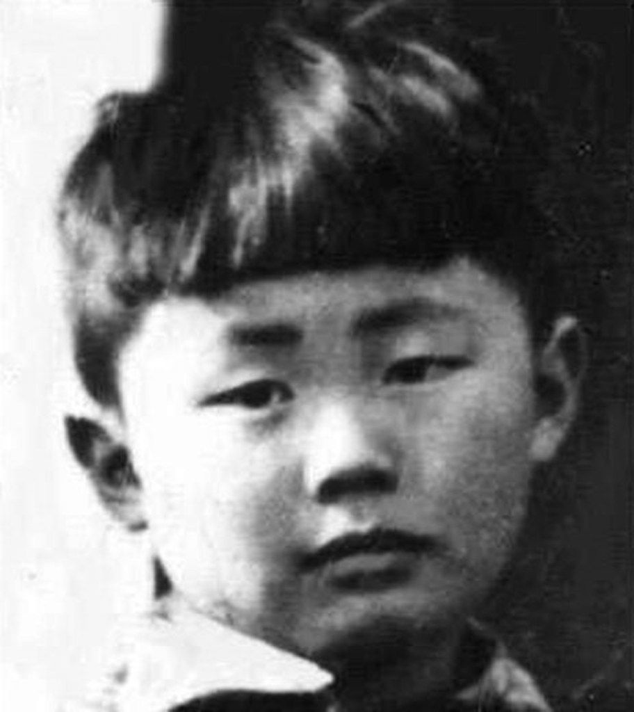 This is the only surviving photograph of George Takei from his time at an internment camp in Rohwer, Ark., in 1942 and 1943.