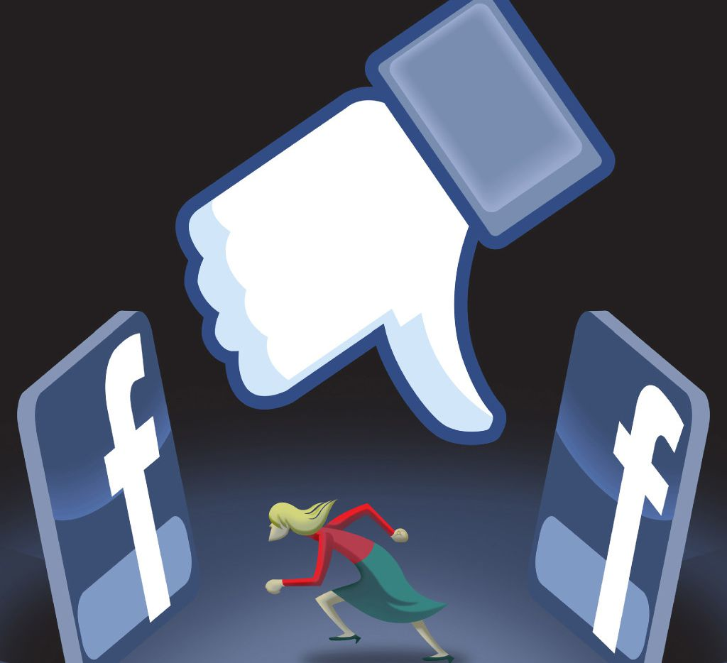 Unchecked rumors spread on social media outlets like Facebook and Twitter.