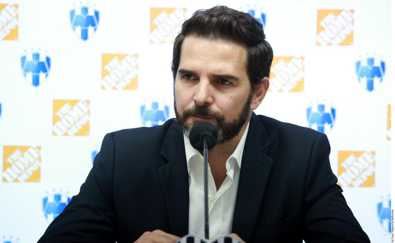 Duilio Davino, quien fue jugador de los Rayados, entre 2009 y 2011, agradeció la oportunidad y se dijo preparado para el puesto como nuevo presidente de los Rayados./ AGENCIA REFORMA