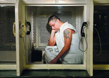 Although death row inmate Joseph Garcia is in the same prison as the four remaining members of the Texas Seven convicted of Officer Aubrey Hawkins' murder, they never see each other.