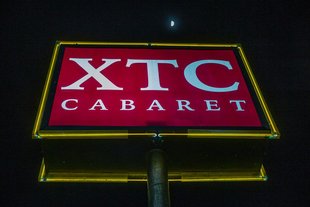 The XTC Cabaret Dallas photographed on Monday, Jan. 14, 2019.