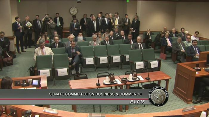 Lobbyists and other interested parties attend committee meetings for bills in Austin. But most people who have opinions on pending matters don't attend. They're at work.