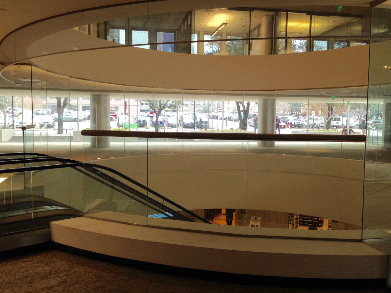 The new architecture center will be in a vacant space off the lobby rotunda.