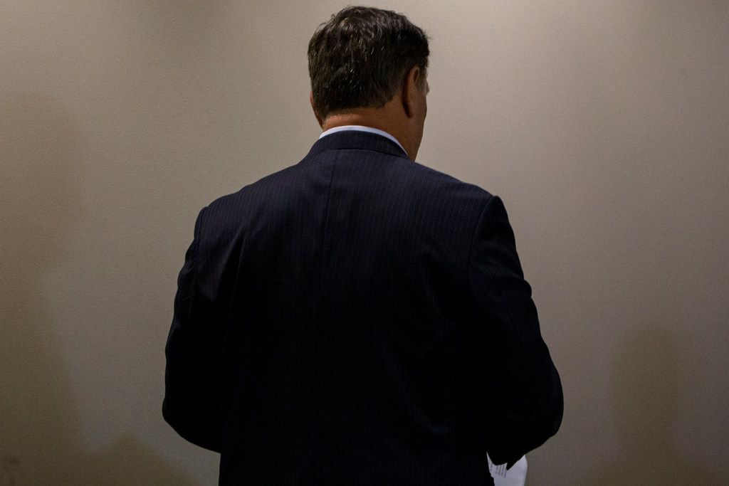 Dallas Mayor Mike Rawlings met with activist in a closed-door during a Dallas City Council meeting on Wednesday.