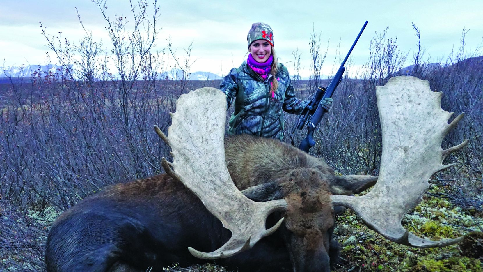 """""""When you get to harvest a 1,500-pound moose that will feed all the guests at your wedding, consider it a blessed day,"""" Eva Shockey writes in her book."""