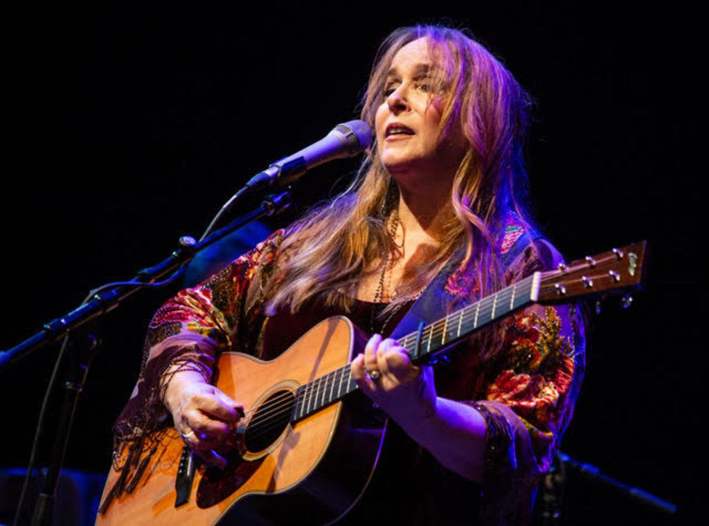 Singer-songwriter Gretchen Peters performs at the MCL Grand Theater in Lewisville on Feb. 17, 2019