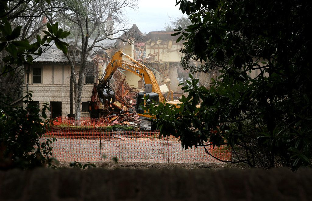 This is how easily a demolition crew can vanish a 105-year-old house.