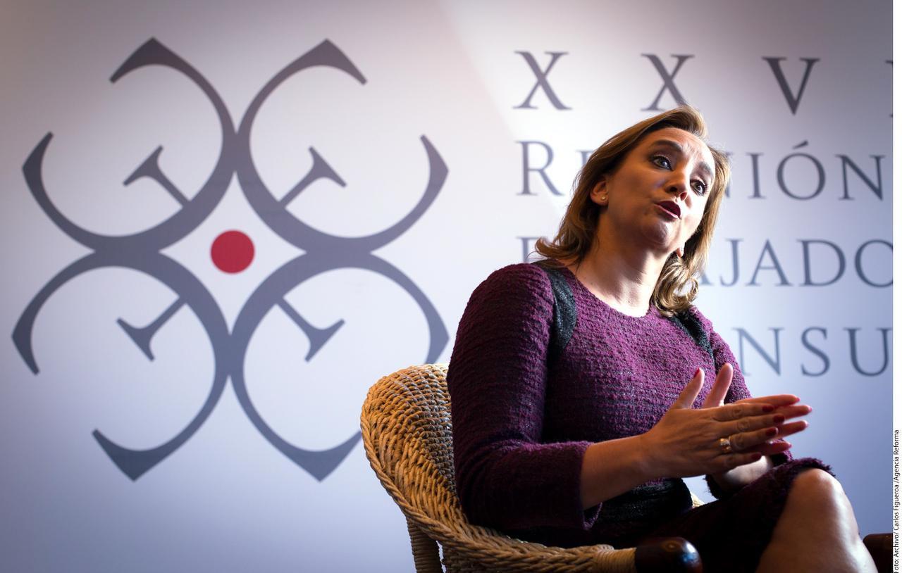 La secretaria de Relaciones Exteriores de México, Claudia Ruiz Massieu Salinas, estará en Dallas el 7 y 8 de abril.(AGENCIA REFORMA)