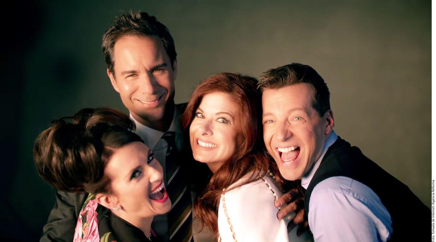La cadena NBC dio a conocer ayer el primer promo oficial de la nueva versión de la serie Will & Grace, que se estrenará el 28 de septiembre./ AGENCIA REFORMA
