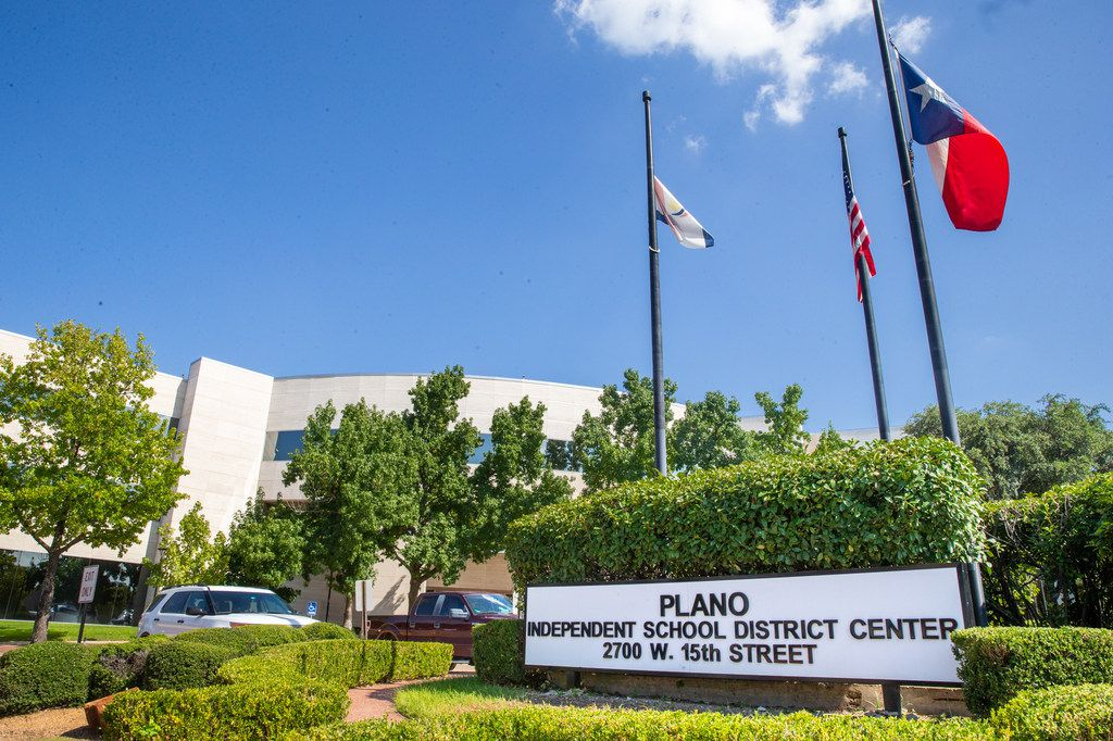 The Plano ISD building on Friday, Aug. 16, 2019. Plano ISD Superintendent of Schools Sara Bonser held a press conference to address the previously cancelled football game between Plano Senior High and Eastwood High School of El Paso. (Lynda M. Gonzalez/The Dallas Morning News)