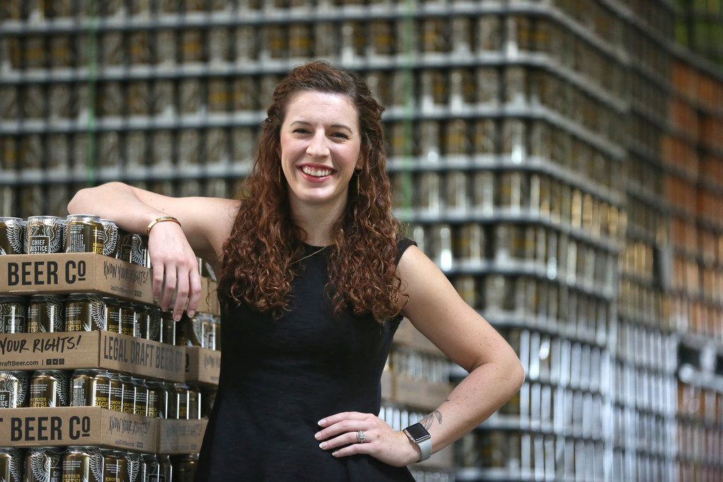 Lauren Jane Carter is the art and creative director for Legal Draft Beer Co. in Arlington, Texas. She has been in the role since September 2015.