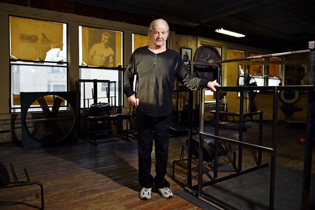 Not much has changed inside Doug's Gym since he bought the gym from National Health Studios in 1962.