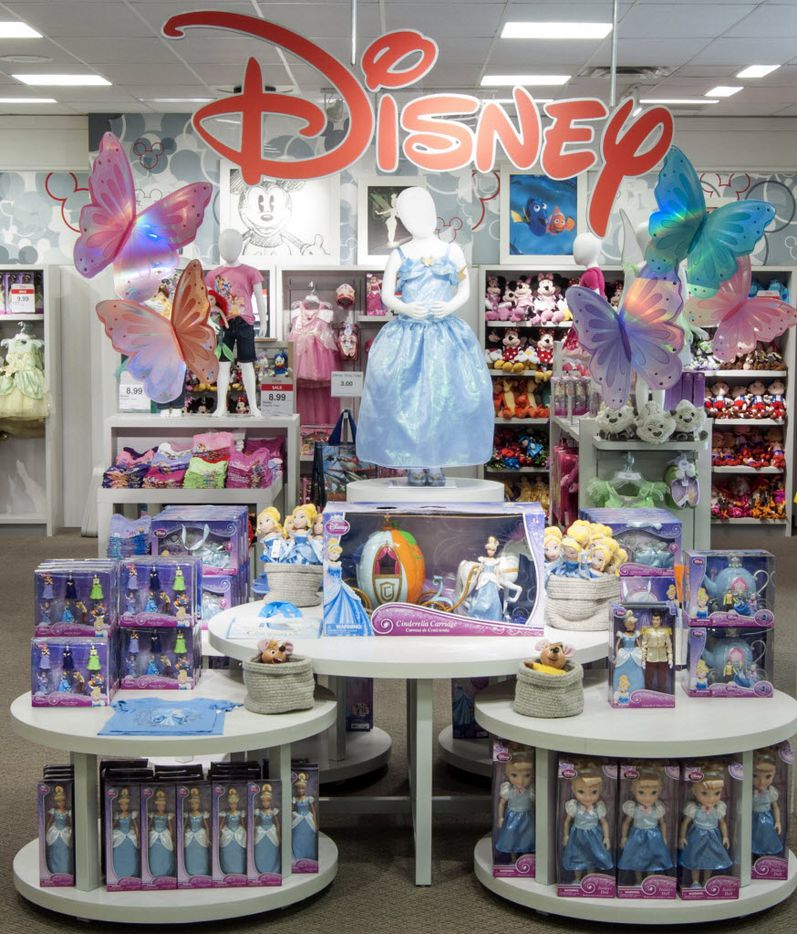 Products inspired by Disney's Cinderella.