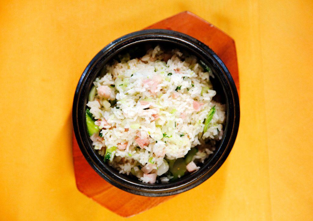 Shanghai salted pork fried rice at Fortune House (Tom Fox/Staff Photographer)