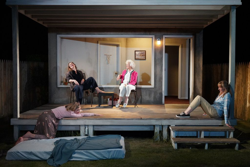 "Plano is ""about three sisters trapped on a porch in Dallas as they are haunted by a series of plagues linked to the male presences in their lives,"" says playwright Will Arbery."