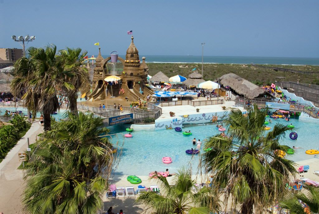Visitors to Schlitterbahn in South Padre Island Beach Resort can float, slide, slip and splash through the park's attractions -- with ocean views, to boot.