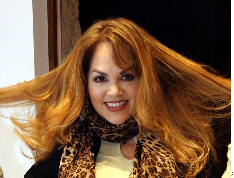 """Cansada de verse siempre igual, """"La Reina de los Niños"""", Tatiana (foto), se puso en manos del equipo de Silvia Galván, se quitó sus rizos y cambió drásticamente el color de su cabello./ AGENCIA REFORMA"""