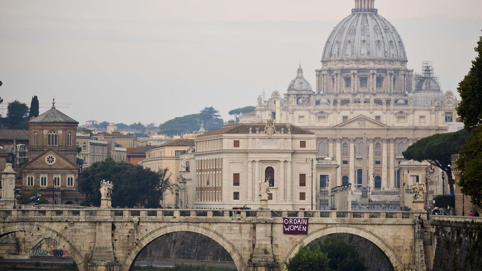 Una panorámica de El Vatico, la sede de la iglesia católica.(AP)