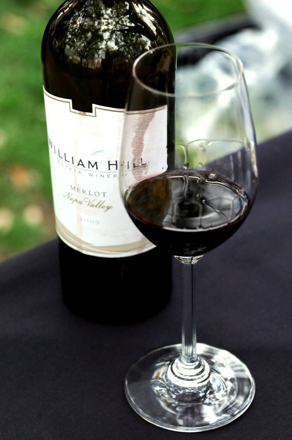 William Hill Napa Valley Merlot is a popular choice at the Savor Dallas Arts District Wine Stroll in downtown Dallas, TX on March 21, 2014.