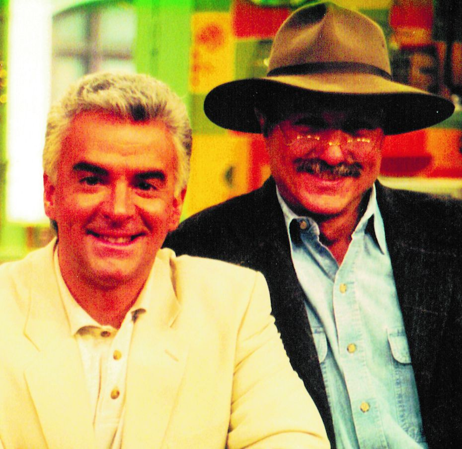 John O'Hurley, who played J. Peterman on Seinfeld, has been a friend and business partner with the real John Peterman for the past 20 years (J. Peterman Co.)