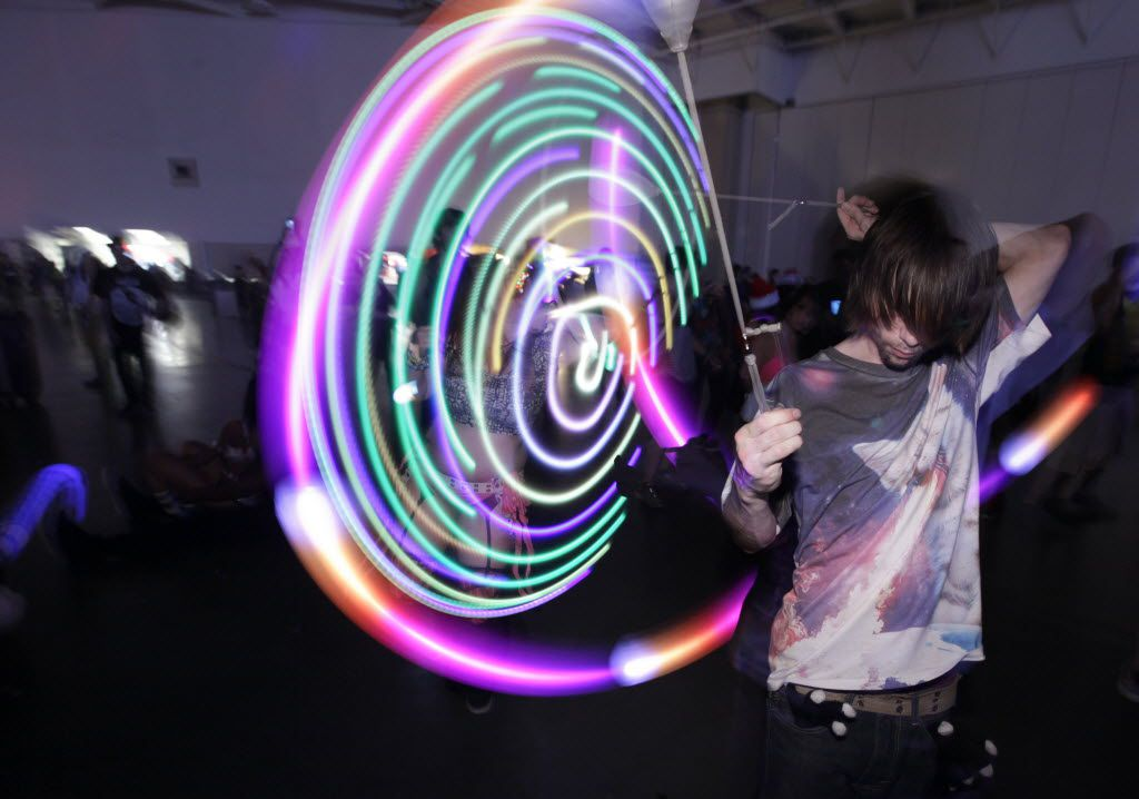 Guests dance during the Lights All Night festival at the Dallas Convention Center in Dallas, TX, on Dec. 26, 2014. (Jason Janik/Special Contributor) 08222015xPUB
