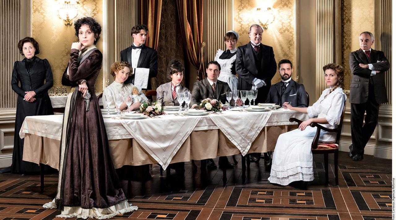 Original de Antena 3 y disponible en Estados Unidos en Netflix, 'Gran Hotel' se trasmitió en España del 2011 al 2013.(AGENCIA REFORMA)