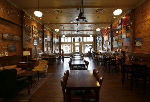 An interior shot of The Generator coffee house in downtown Garland. (Jae S. Lee/The Dallas Morning News)