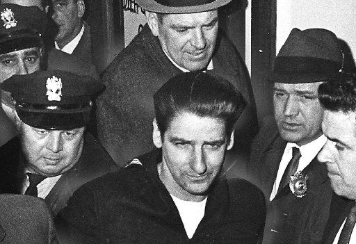 ORG XMIT: S0371457053_WIRE RANGLER, IN 196 Although it has been widely believed that the Boston strangler was found, officially, all the murders remain unsolved. A year ago, relatives of the last of the 13 victims, Mary Sullivan, and relatives of the supposed strangler himself, Albert DeSalvo, joined together to resurrect evidence in the case by exhuming the bodies of the two. DeSalvo, who confessed to being the Boston Strangler, in 1967.