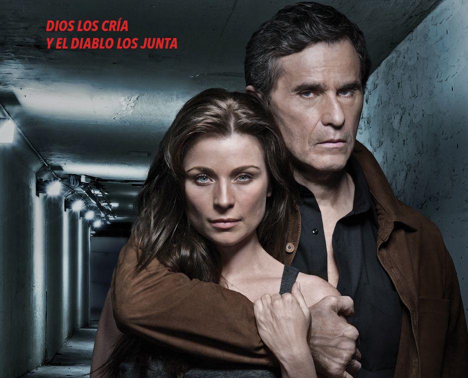 "Humbreto Zurita y Ludwika Paleta protagonizan la serie ""La Querida del Centauro""./ TELEMUNDO"