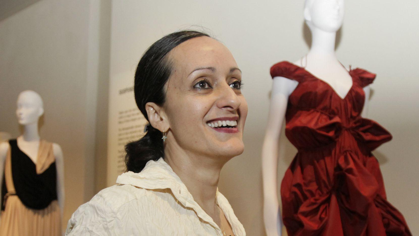 La diseñadora Isabel Toledo.
