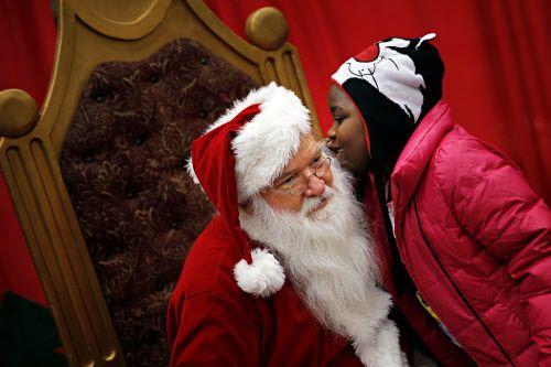 Encuentra dónde ver a Santa Claus en el Metroplex./DMN