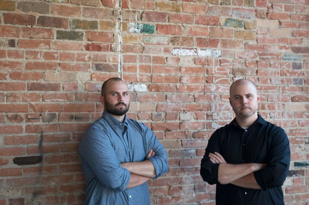 Nick Backlund (left) & Scott Jenkins (right), owner and director of beverage, respectively of Hide. They hope to bring a new type of cocktail experience to Deep Ellum.