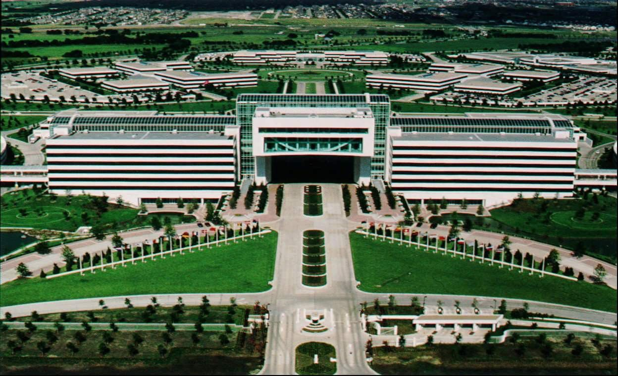 The huge former EDS campus was once the centerpiece for the entire Legacy business park in West Plano.